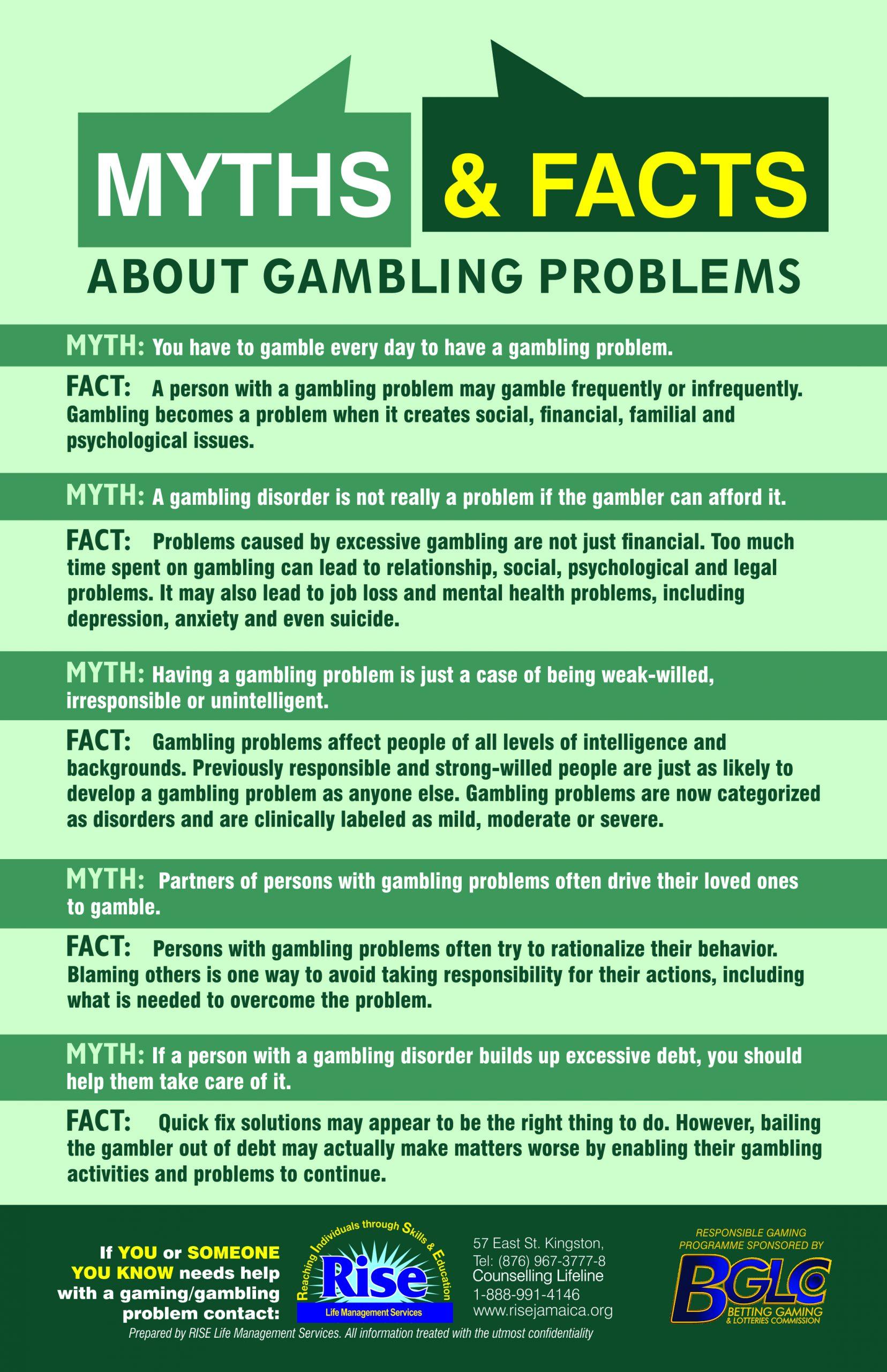 Gambling Myths & Facts