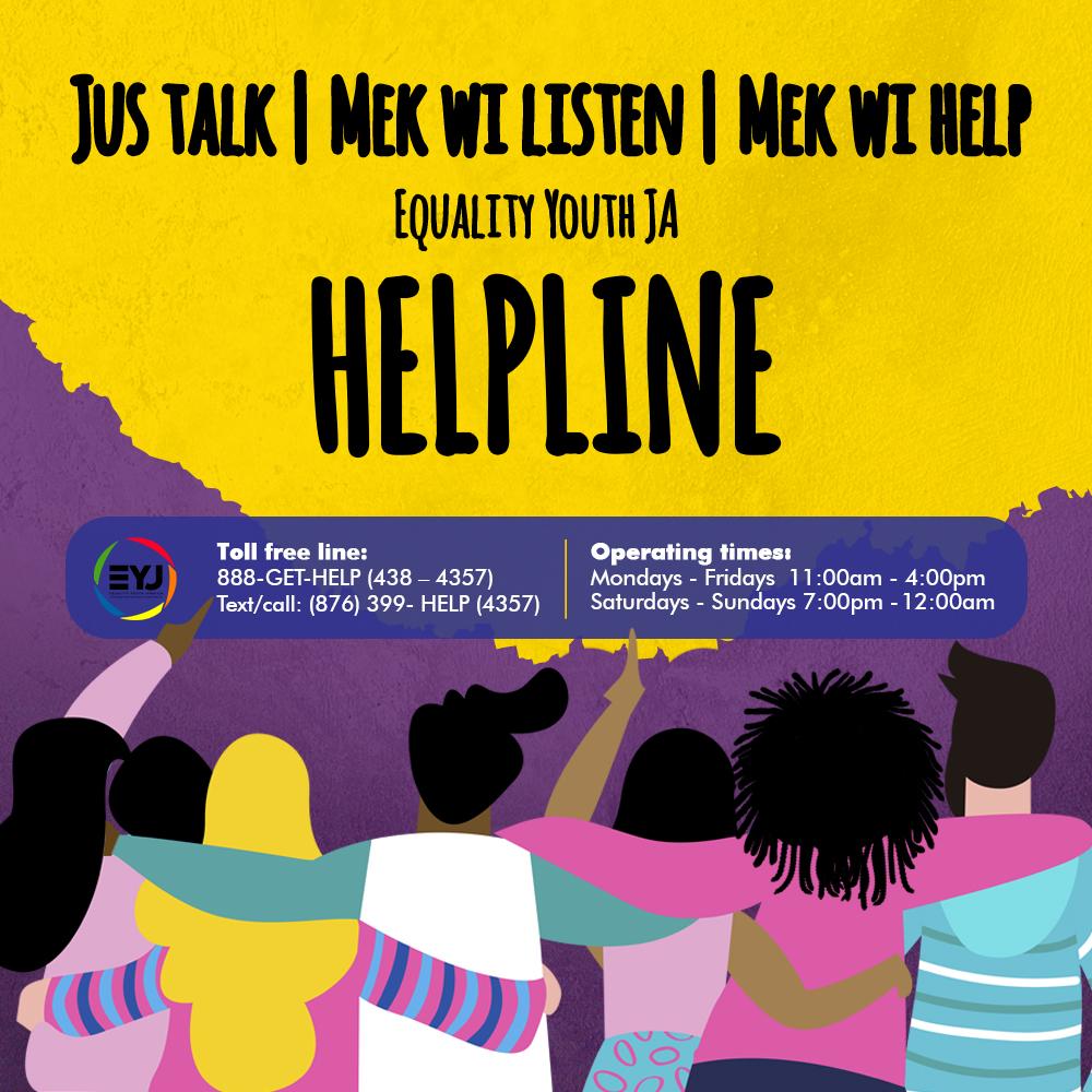 Mek wi Help! - HelpLine